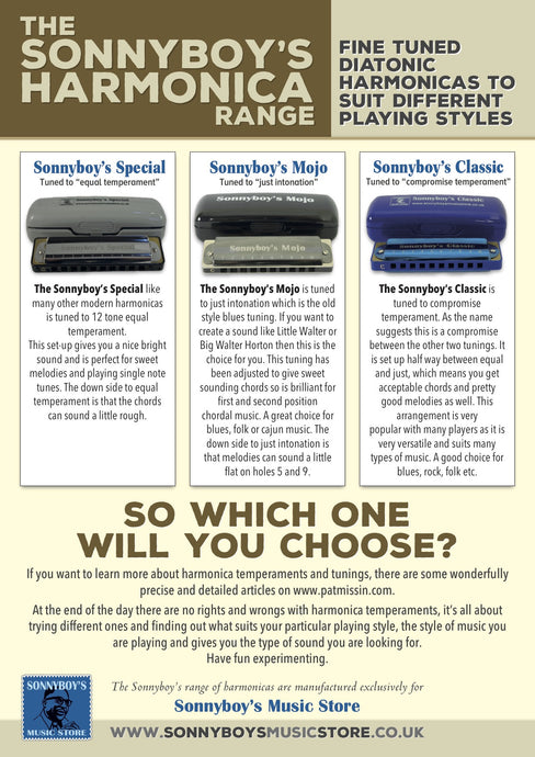 Which harmonica and massive discount on three fab harp courses.