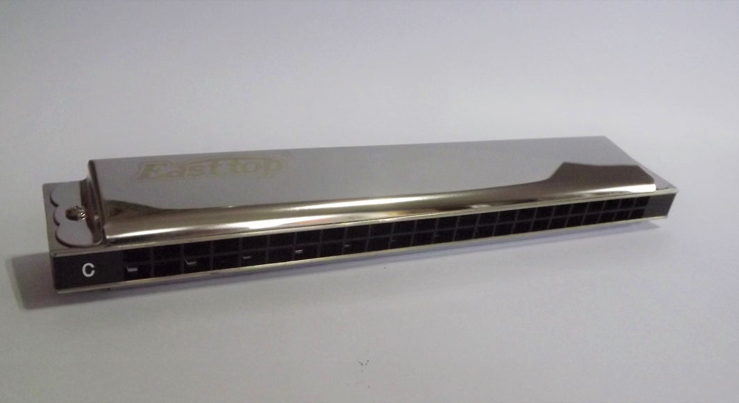 Easttop Tremolo harmonica T2403 available in C, D and G keys