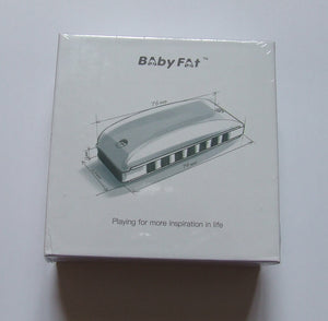Baby Fat Harmonica  by Kongsheng - 7 hole diatonic mini harmonica
