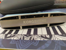 Load image into Gallery viewer, Konsheng Lyra Chromatic Harmonica in key of C
