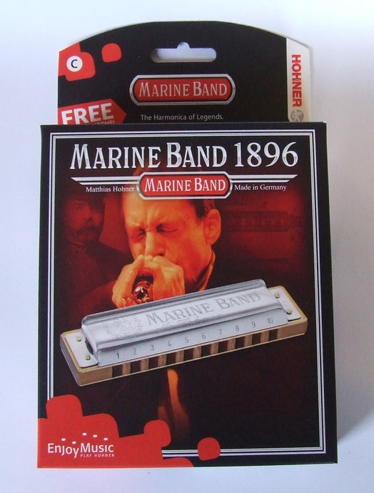 Hohner Marine Band 1896 Harmonica in key of C