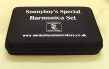 Laden Sie das Bild in den Galerie-Viewer, Sonnyboys Special 7 set harmonicas