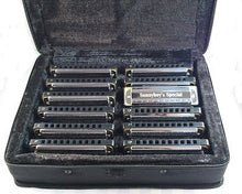 Laden Sie das Bild in den Galerie-Viewer, Sonnyboys Special 12 set harmonicas