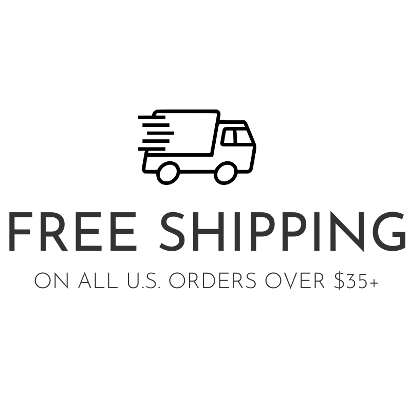 Free Shipping on orders over 35