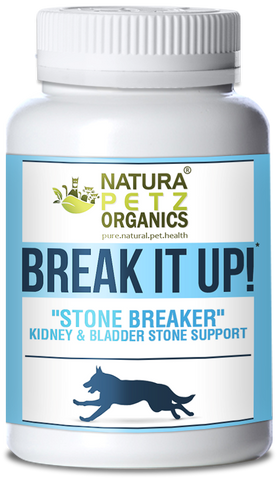 Pet Product News Features Break It Up! by Natura Petz Organics dog stones cat stones