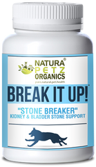 BREAK IT UP NATURA PETZ ORGANICS DOG STONES CAT STONES PET STONES