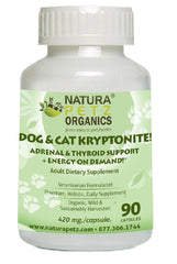 Dog and Cat Kryptonite Adrenal Support for Dogs Kryptonite Adrenal Support for cats