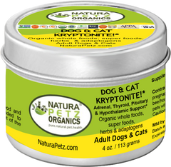 Natura Petz Organics Dog & Cat Kyrptonite Best Seller for dogs and cats dog kryptonite cat kryptonite