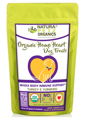 Natura Petz Organics Hemp Heart Immune Dog Treats Dog Immune Treat Dog Hemp Treat