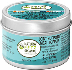 Natura Petz Organics Joint Meal Topper for dogs Meal Topper for cats