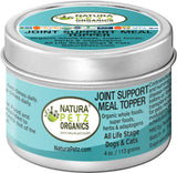 Natura Petz Organics Joint Support Meal Topper for dogs best joint support for dogs best joint support for cats