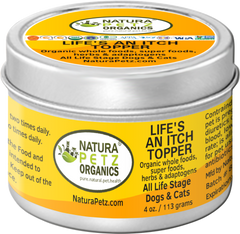 Natura Petz Organics Best Seller Joint Support Meal Topper for dogs and cats