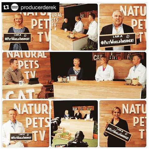 Natural Pets TV Season 2 Cat pet herbalist Heidi Nevala Dr. Liz Bales and Dr Ken Tudor