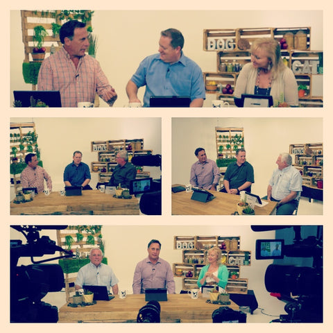 Very excited and honored to have filmed Natural Pets TV with Greg Tilford, Robert Semrow & Dr. Ken Tudor!