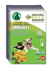 Natura Petz Immunity Starter Pack Pet Product News Supplement Essential