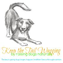 Kim Gauthier of Keep the Tail Wagging recommends Natura Petz Organics I AM A ROCK STAR for glandular supplements in raw diet for dogs
