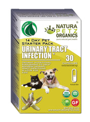 Natura Petz Organics Best Seller Urinary Tract Infection Meal Topper for dogs and cats