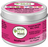 BLADDER MATTERS MEAL TOPPER* Bladder Control & Leakage Support for Dogs and Cats*