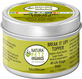 BREAK IT UP! Stone Breaker Stone Eliminator Meal Topper for Dogs and Cats* - Flavored Meal Topper for Stones*