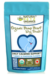 HEMP HEART DAILY CALMING SUPPORT DOG TREATS* 30 Pieces 4 oz TURKEY & PASSION FLOWER & CAROB