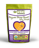 HEMP HEART WHOLE BODY IMMUNE SUPPORT TREATS* 60 Pieces 9 oz. Bag TURKEY & TURMERIC
