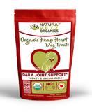 HEMP HEART DAILY JOINT & ACTIVE BODY SUPPORT TREATS* 60 Pieces 9 Oz TURKEY, SACHA INCHI & CHIA