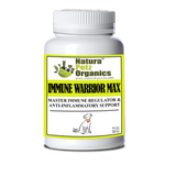 IMMUNE WARRIOR MAX MASTER BLEND CAPSULES* Immune Regulator & Anti-Inflammatory Support* for  Dogs & Cats