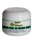 SEAL EM AND HEAL EM POWDER DOG, CAT & SMALL ANIMAL*  Wound, Infection & Hot Spot Support*