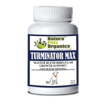 TURMINATOR MAX* MASTER BLEND IRREGULAR GROWTH SUPPORT (NON BLOOD THINNING) for DOGS & CATS*