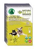 CLEANSE & DETOX STARTER PACK FOR DOGS & CATS*