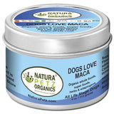 DOGS LOVE MACA - Organic Flavored Meal Topper for Dogs * (and Cats)*