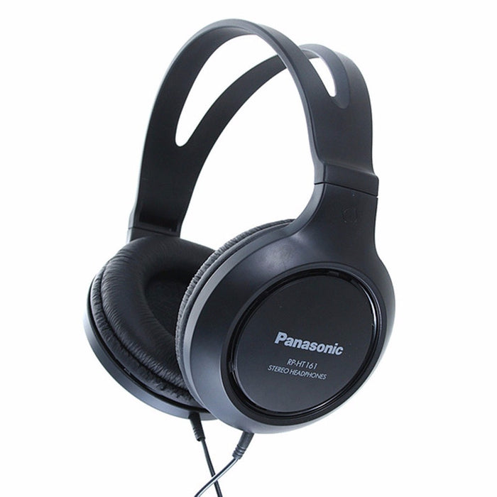 Panasonic Audífonos Over Ear Alta Rp-ht161e-k * Color Negro