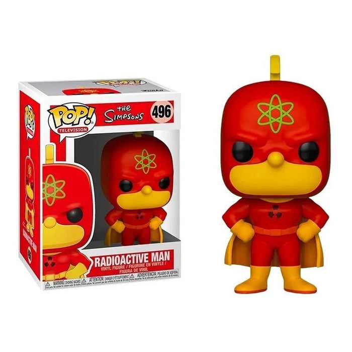 Figura Funko Pop! The Simpsons Radioactive Man #496