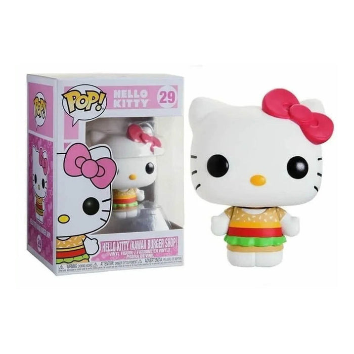 Figura Funko Pop! Hello Kitty Kawaii Burger Shop #29