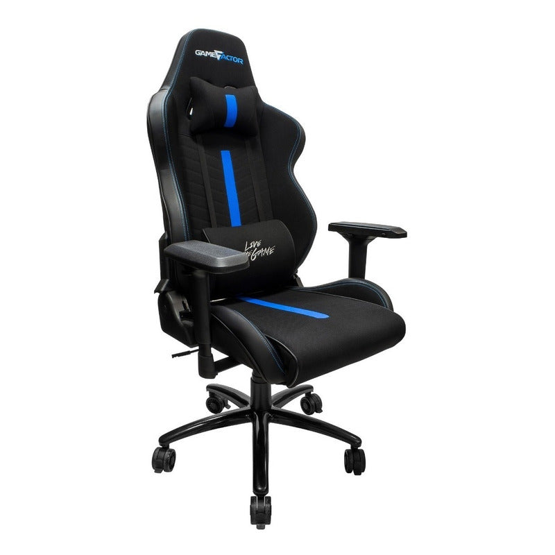 Silla Gamer Game Factor Full Size Xxl Ergonomica Vorago 601