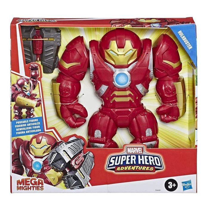 Figura Hulkbuster Mega Mighties Avengers Playskool Hasbro