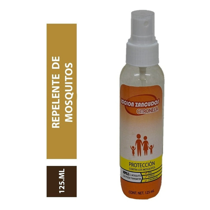 Repelente Mosquitos Mist Sprayer Aceite Citronela 125ml