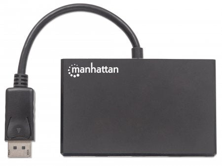 Manhattan Divisor de Video DisplayPort Macho - 4x DisplayPort Hembra, Negro