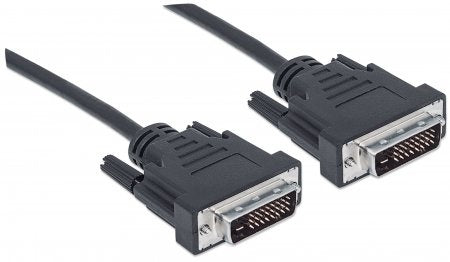 Manhattan Cable DVI Macho - DVI Macho, 5 Metros, Negro