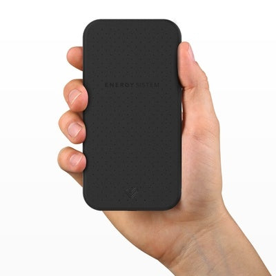 Cargador Portátil Energy Sistem Power Bank EY-422531, 10.000mAh, Negro