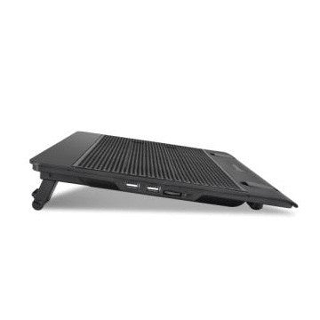 "Thermaltake Base Massive 14"" para Laptops 10''-17'', con 2 Ventiladores de 1200RPM, Negro"