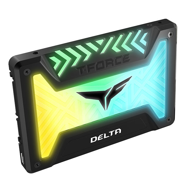 "SSD Team Group Delta RGB, 250GB, SATA III, 2.5"", 9.5mm, Negro"