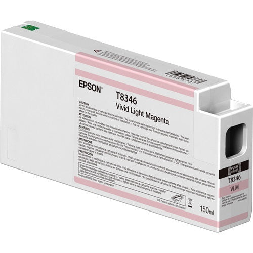 Cartucho Epson UltraChrome HDX T834600 Magenta Claro Vivo 150ml