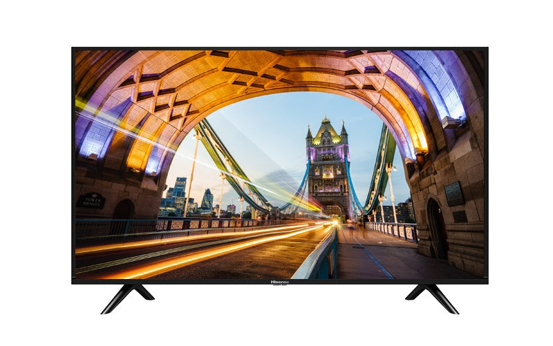 "Hisense Smart TV LED 40H5500F 39.5"", Full HD, Widescreen, Negro"