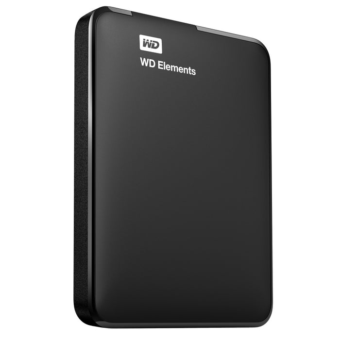 Disco Duro Externo Western Digital WD Elements Portátil 2.5'', 1TB, USB 3.0, Negro - para Mac