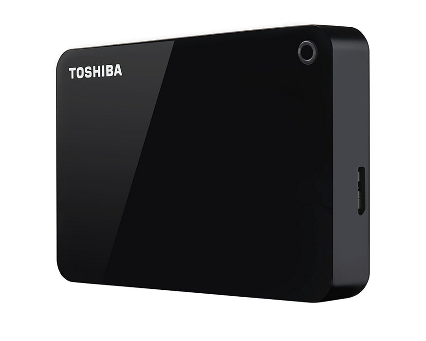 Disco Duro Externo Toshiba Canvio Advance 2.5'', 2TB, USB 3.0, Negro - para Mac
