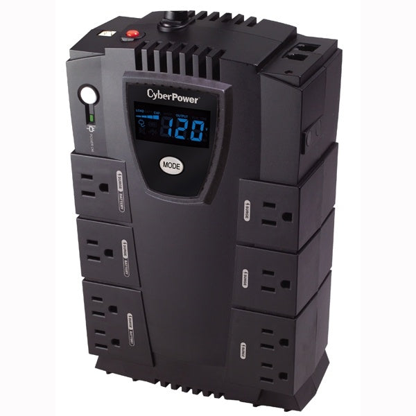 No Break CyberPower CP600LCD, 340W, 600VA, 8 Contactos