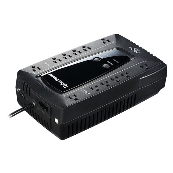 No Break CyberPower AVRG900U, 480W, 900VA, Entrada 90-148V, 12 Contactos