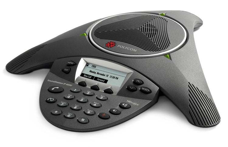 Poly Telefono SoundStation IP 6000, Alámbrico, 1x RJ-45