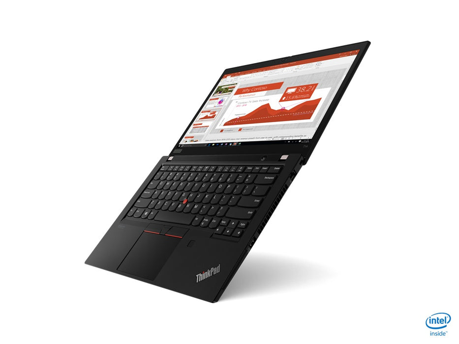 "Laptop Lenovo ThinkPad T14 14"" HD, Intel Core i7-10510U 1.80GHz, 16GB, 512GB SSD, Windows 10 Pro 64-bit, Negro"